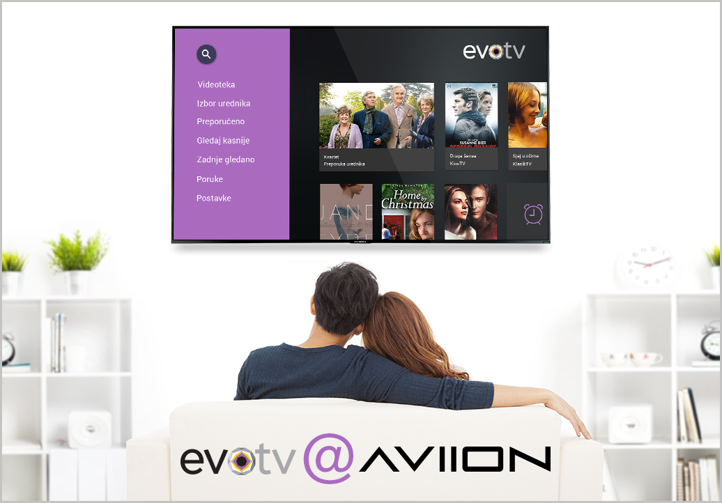Evotv, yet another Croatian OTT solution based on AVIION HS5 Platform